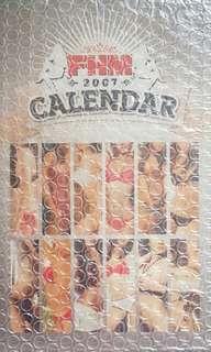 FHM 2007 Calendar