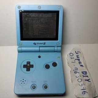 Game Boy pocket GAMARS blue free game catridge