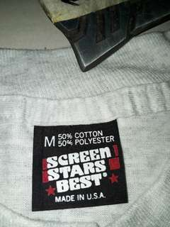 SCREEN STAR VINTAGE TSHIRT 5050