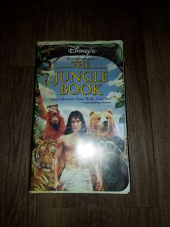 THE JUNGEL BOOK VCR
