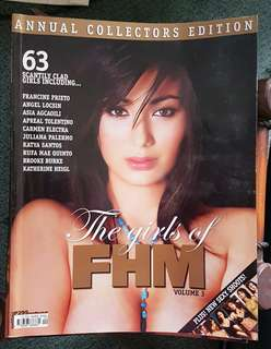 Girls of FHM Vol 3 Annual Collector's Edition