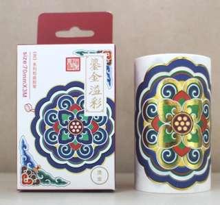 Descendants of the Dragon Beijing Palace Washi Tape