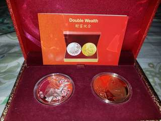 Limited Edition Double Wealth Monkey Set