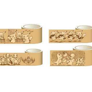 Pokemon Sepia Graffiti Series Masking Tape (Pre-Order)