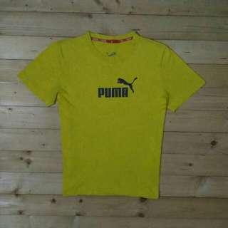 Kaos Puma Original Kuning