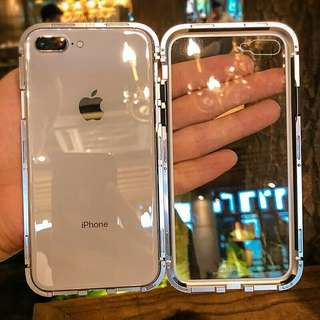磁吸玻璃殼IPhone case