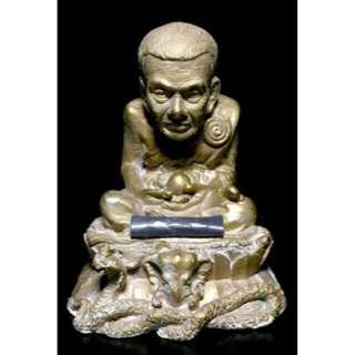 Ajahn Klang Seng strongly blessed. - Lp Thuad BE2559 come with free gift
