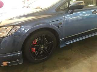 Honda civic fd 1.8manual Bigcalliper Bucket seat price drop Rm7000