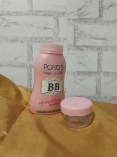 Share in jar ( Ponds magic powder)