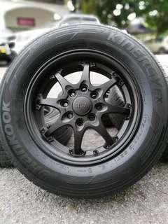 Ce28 13 inch sports rim saga blm flx tyre 95%. *bunga tebai tebai*