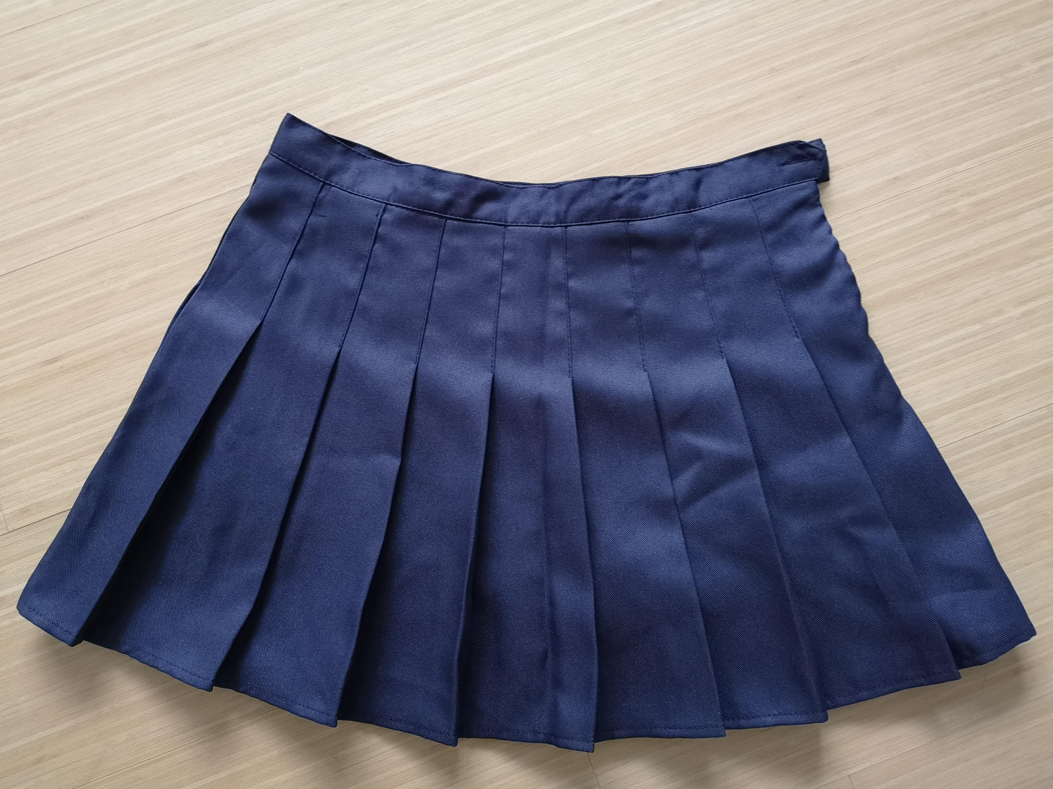 Plus Size A Line Pleated Skirt Tennis Skort Women S Fashion Clothes Pants Jeans Shorts On Carousell