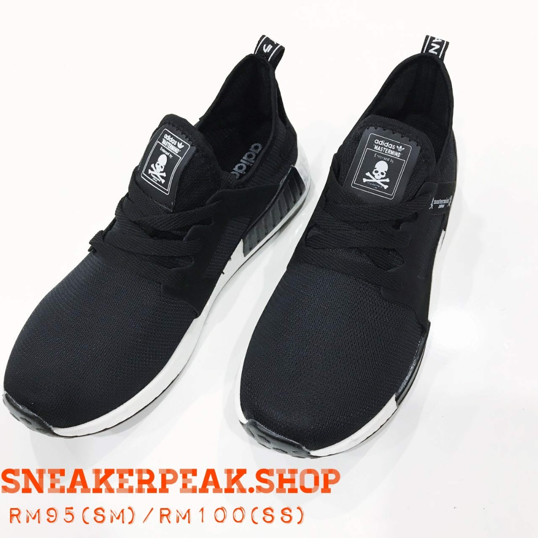 new products 61810 6800e ADIDAS NMD MASTERMIND BLACK AND WHITE
