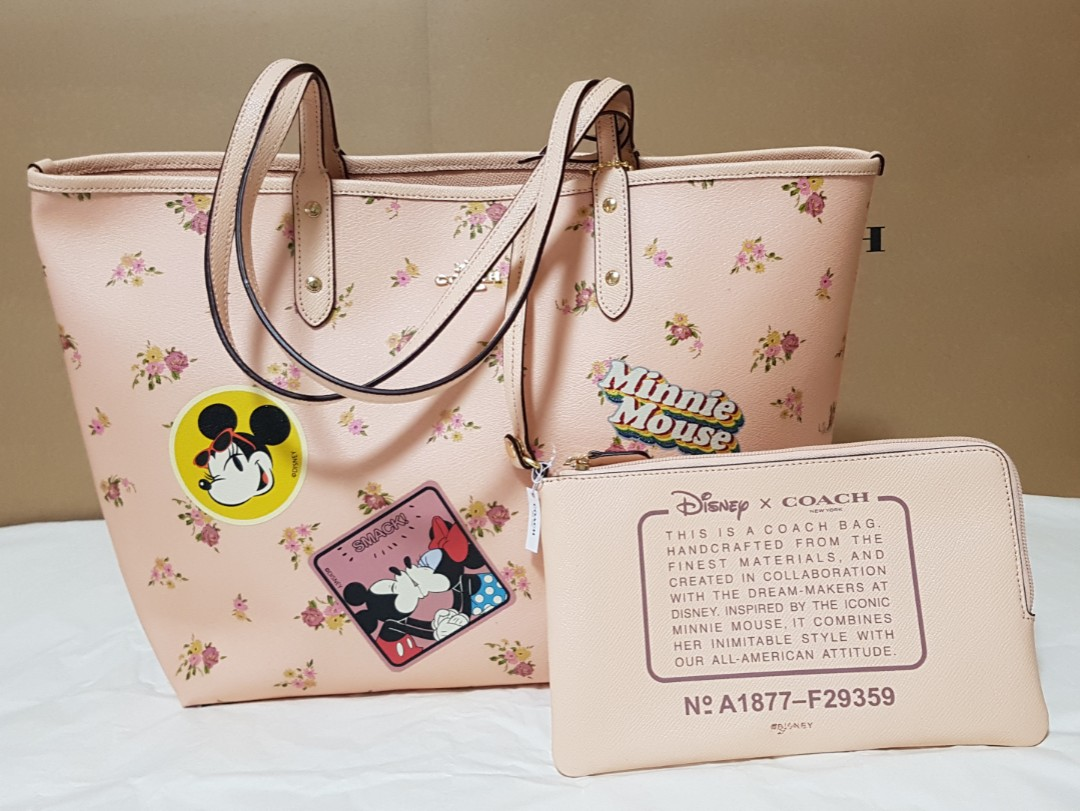 dec56667127b 40% discount for Authentic Coach Disney Tote bag from U.S.