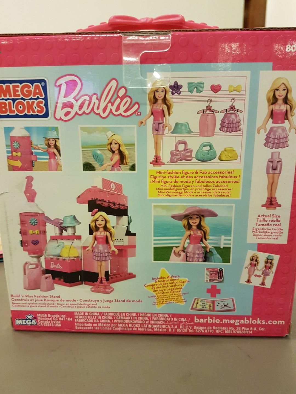 Barbie Mega Bloks Mermaid Lagoon Instructions - Photos Barbie