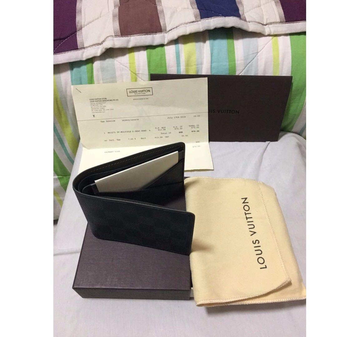 d819e5d7add5 Brand NEW   Authentic Louis Vuitton Limited Edition Men s Wallet ...