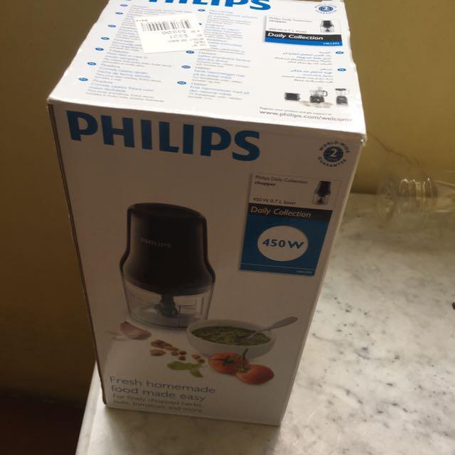 Brand new Philips Chopper