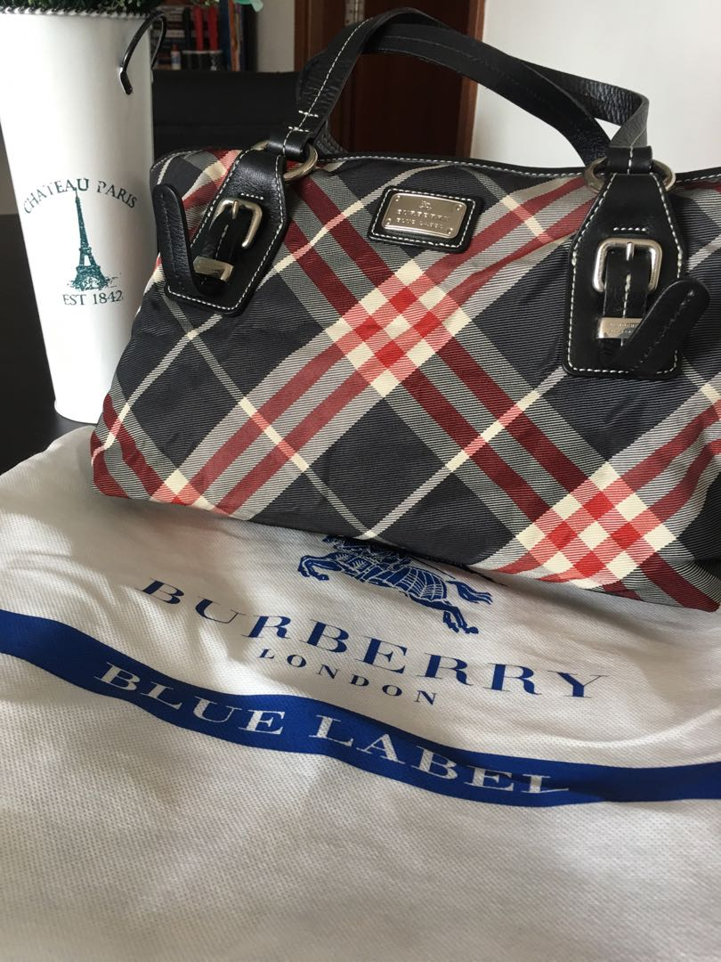 d3fa66f24cf Burberry Blue Label Handbag, Women s Fashion, Bags   Wallets ...