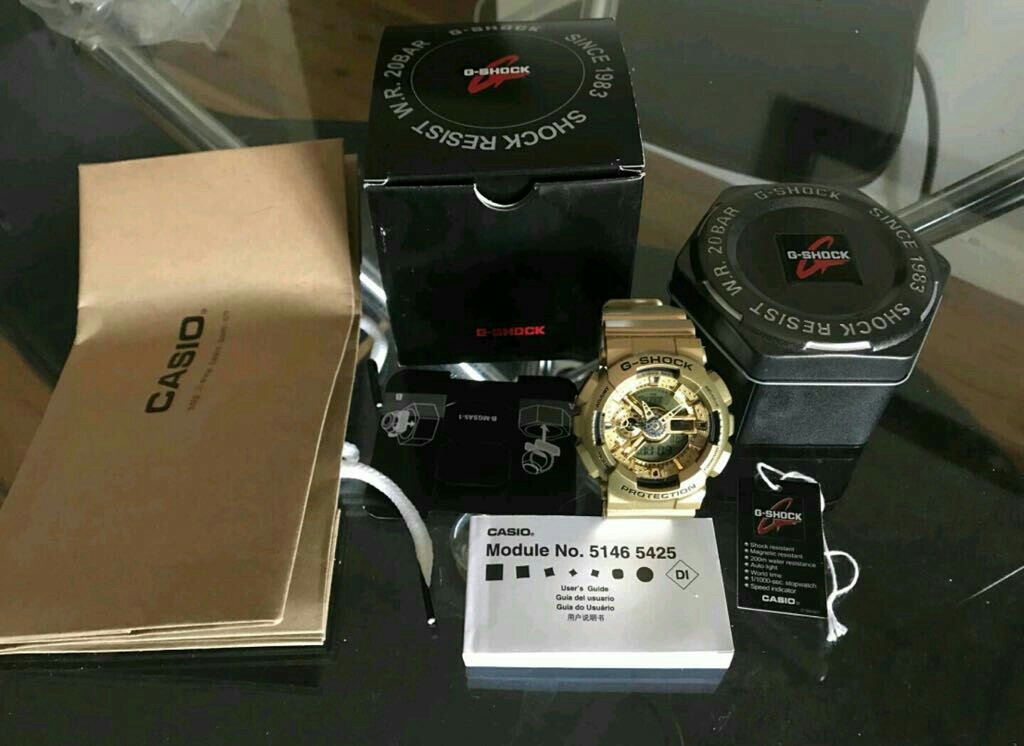 Casio G Shock Ga 110 Mens Fashion Watches On Carousell
