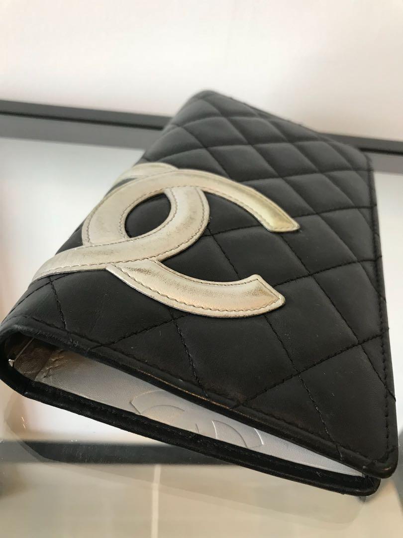 07da4139a5f6 Chanel Calfskin Quilted Ligne Cambon Yen wallet, Barangan Mewah, Beg ...