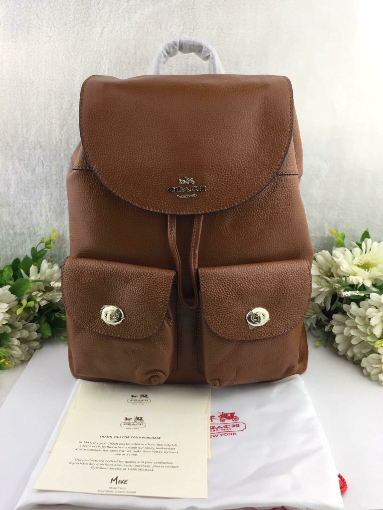 d618190689f5 ... wholesale coach billie backpack womens fashion bags wallets on  carousell 36895 ba49f