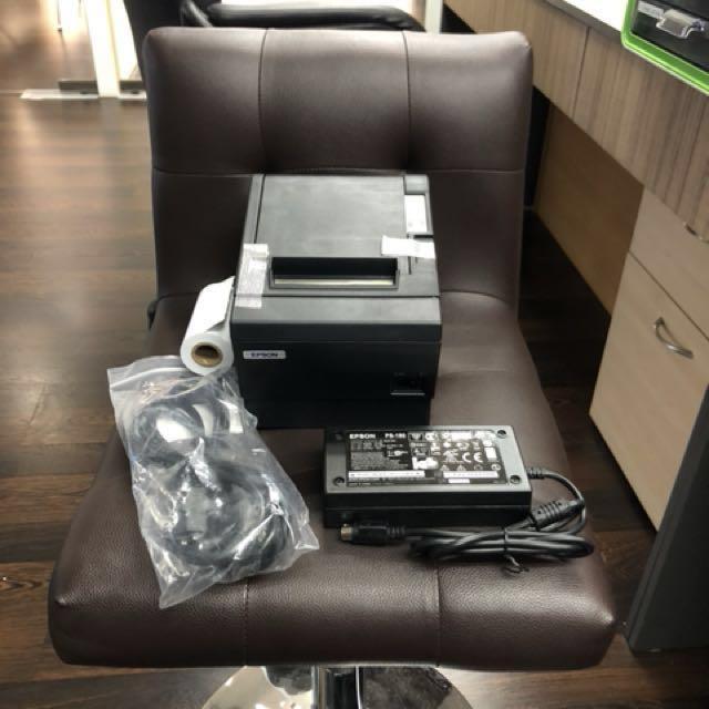 EPSON TM-T88III 80mm Thermal Receipt Printer (LAN port/USB Port)