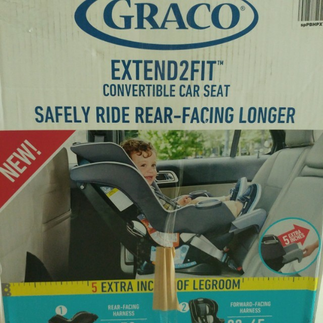 Graco Extend2fit Convertible Car Seat Accessories On Carousell