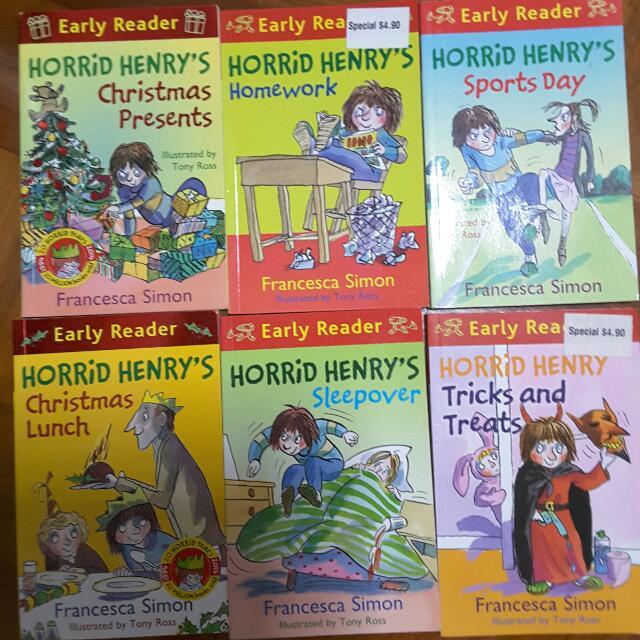 Horrid Henry, Books & Stationery