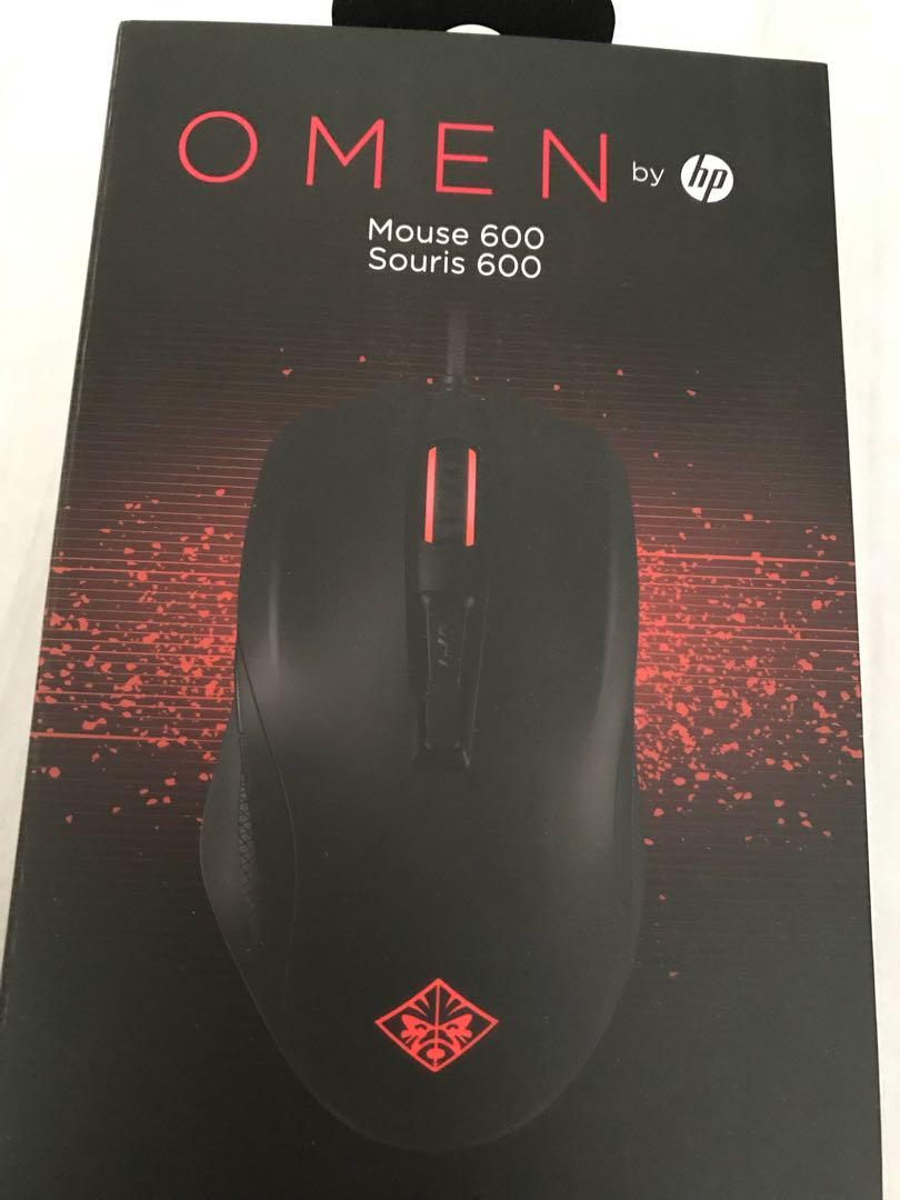 HP OMEN 600 Gaming Mouse, Electronics, Computer Parts