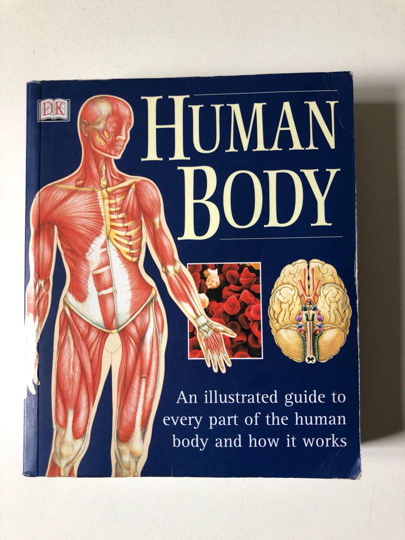 Human Body Anatomy Concise Guide, Books & Stationery, Non