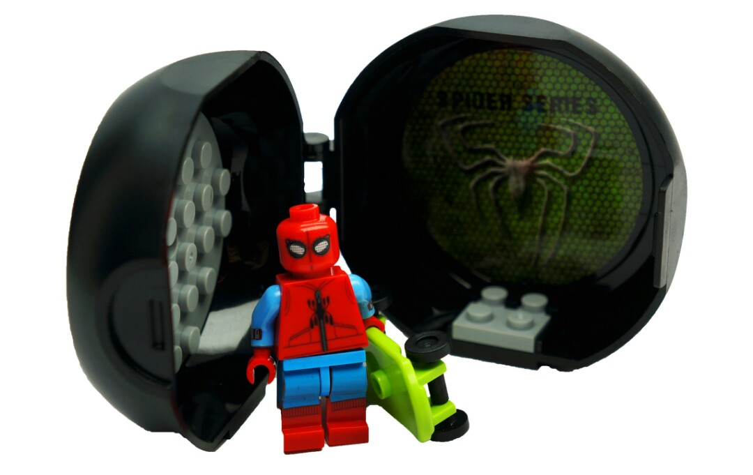 Lego Spiderman Homecoming Homemade Suit Bootleg Toys