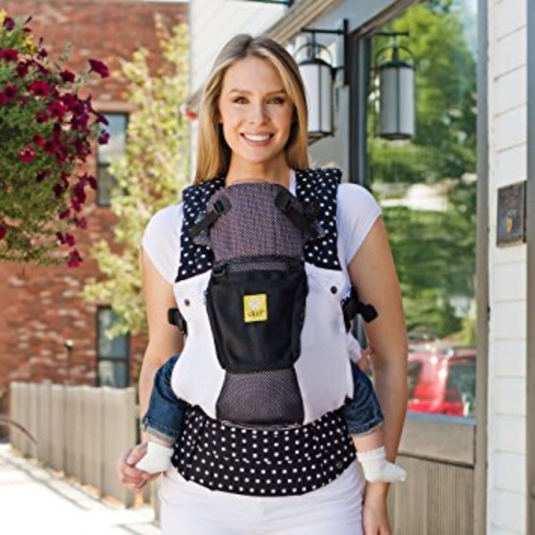 6d228e1a85d Lillebaby 6-in-1 Complete Airflow Spot on Black baby carrier