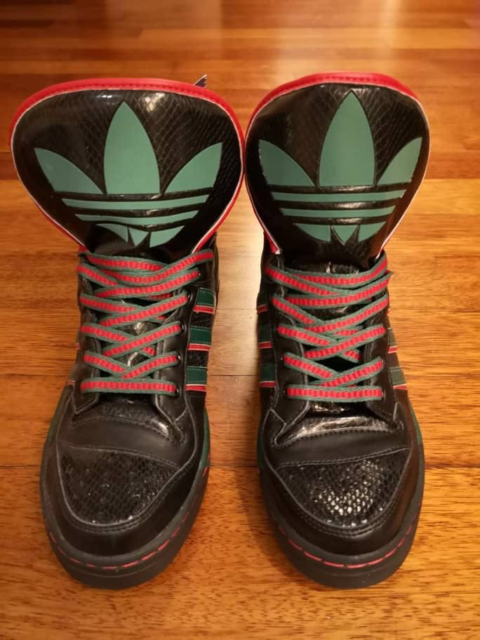 (LIMITED) Adidas M Attitude Snake DJ Muro Kinetics X Gucci