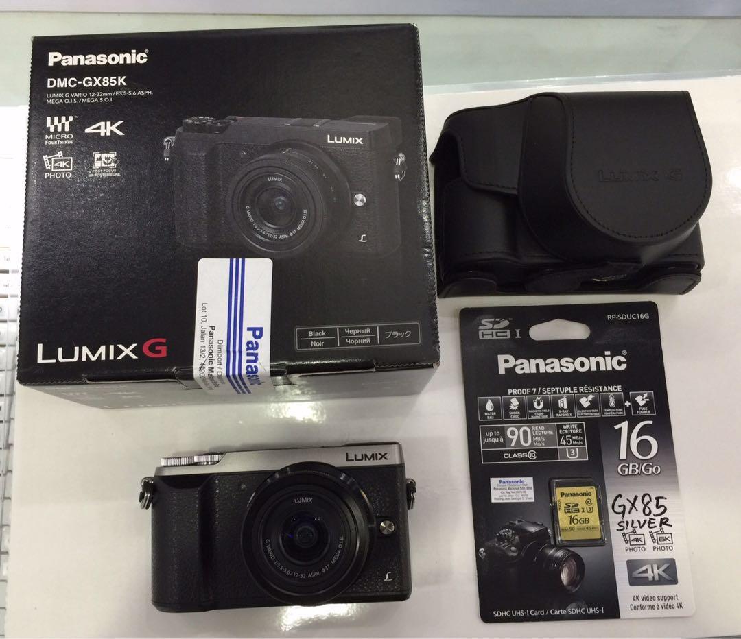 Lumix Gx85 Kamera Di Carousell Panasonic Dmc Gf2 Kit 14 42mm Paket