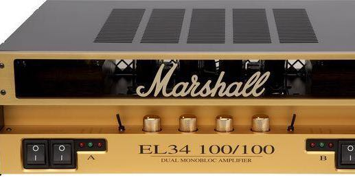 Marshall EL34 100/100 Stereo Power amp for guitar