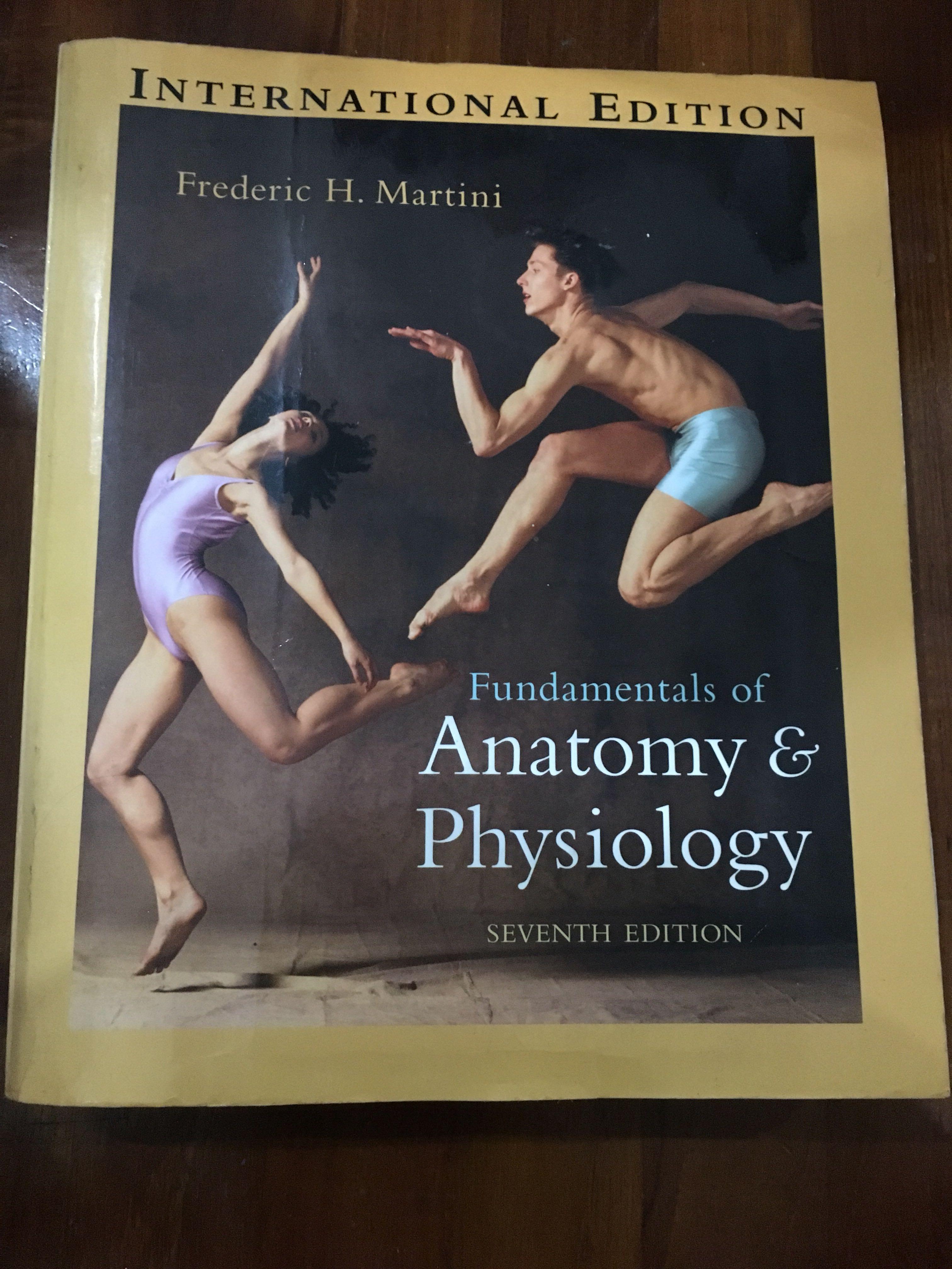 Martini Fundamentals of Anatomy & Physiology 7th ed, Books ...