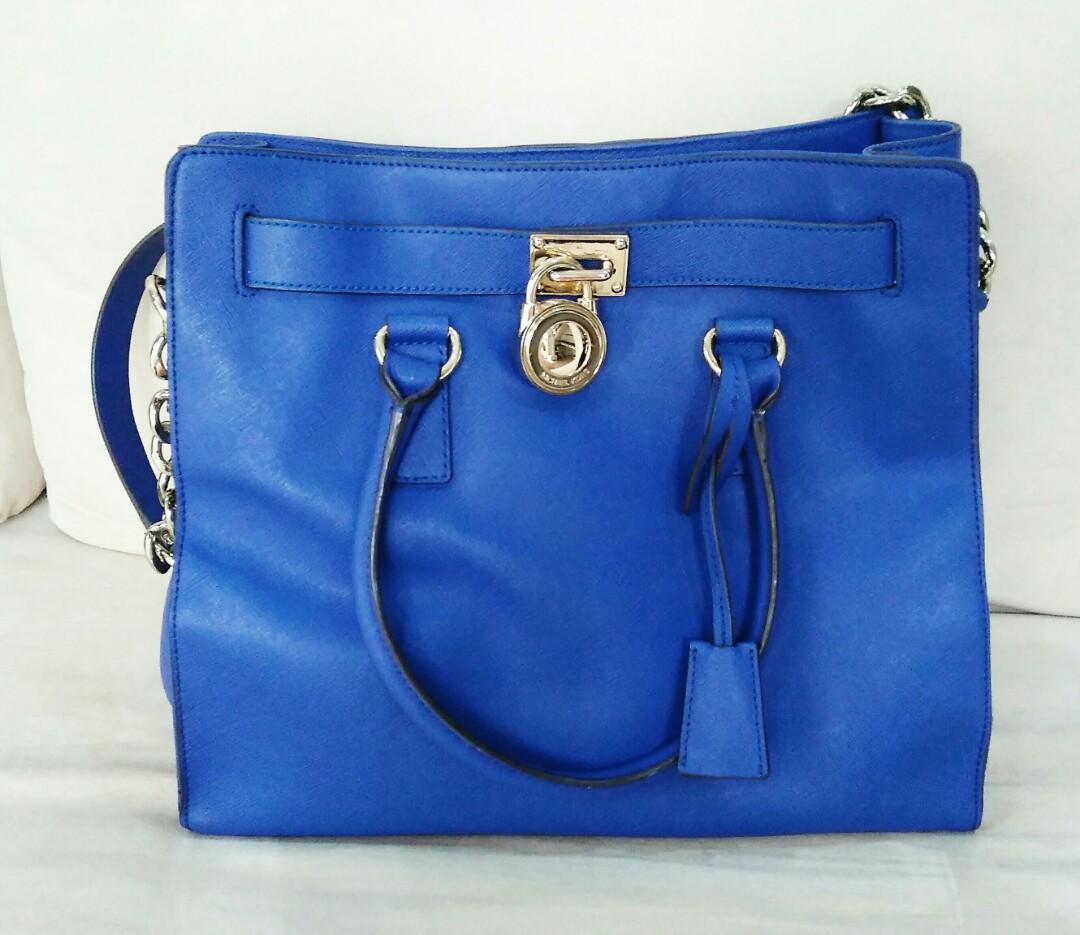 dd44650b79c7 Repriced-Michael Kors - Hamilton - Large Saffiano Leather Tote Bag ...