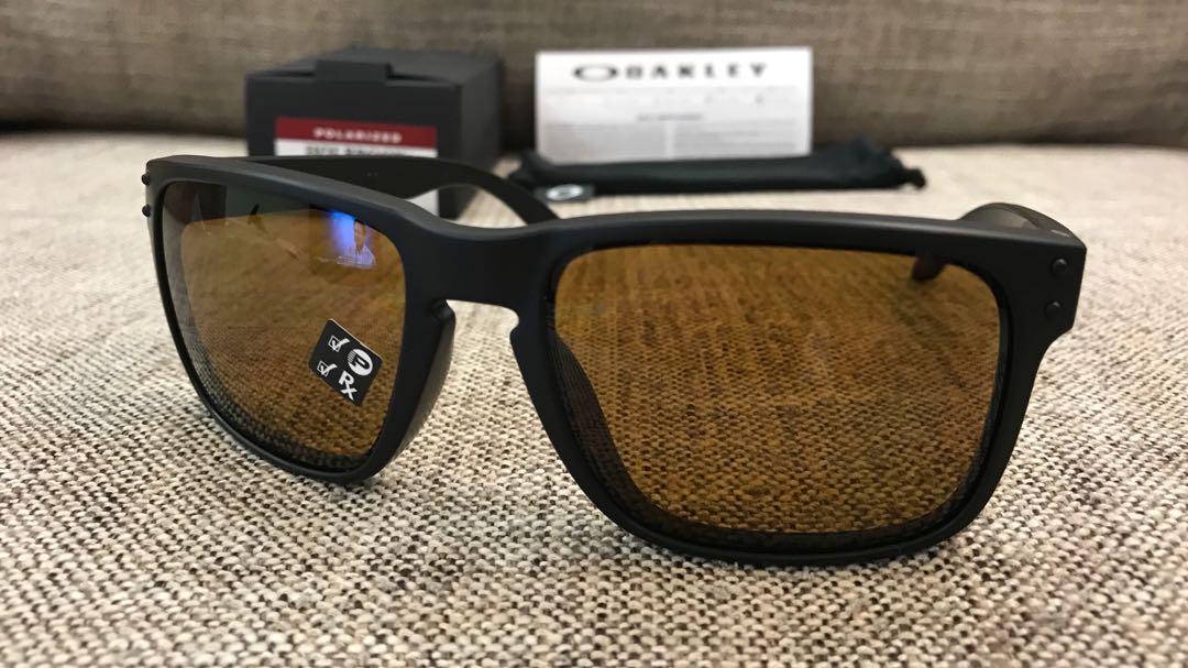 ca79b42af1 Oakley™ HOLBROOK Asian Fit (Matte Black Bronze Polarized)