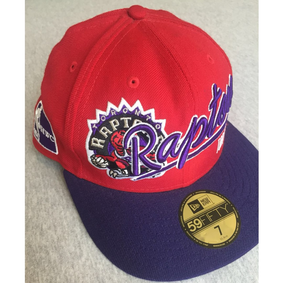 5e46c8588dfb1b *ORIGINAL* NBA Toronto Raptors New Era 59Fifty Fitted Cap, Men's Fashion,  Accessories, Caps & Hats on Carousell