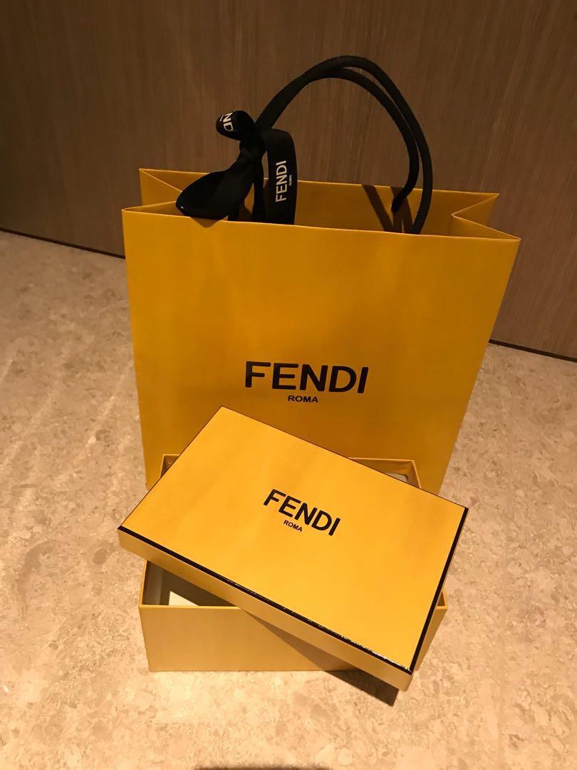 ✨Reduced✨Fendi Box and Paperbag set d0876059b8898