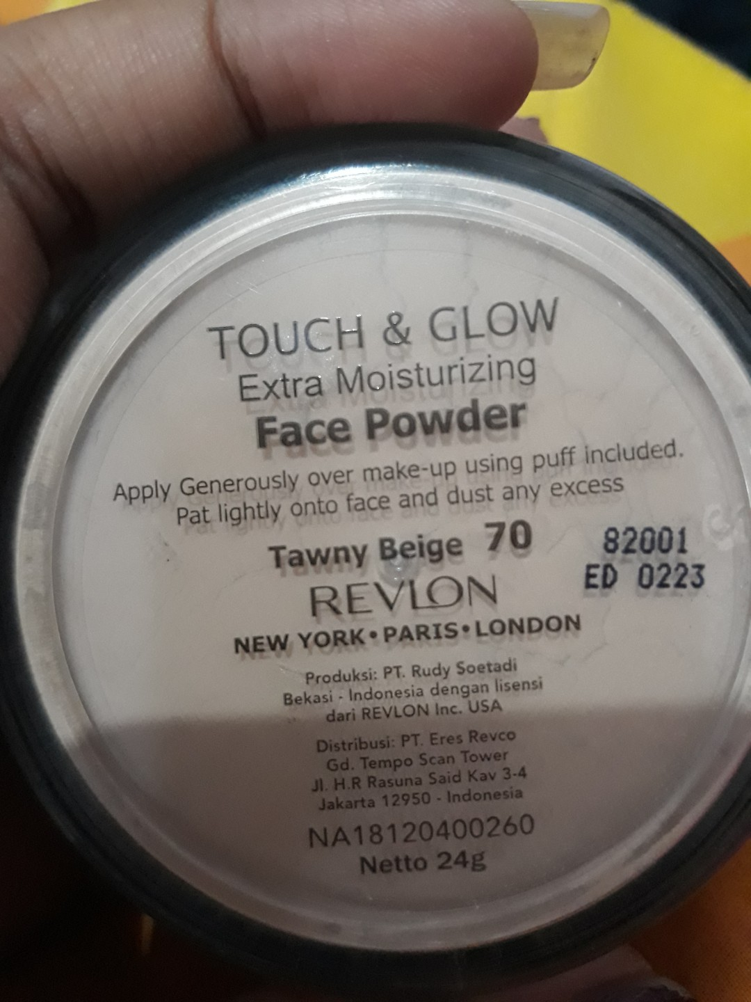 Revlon Touch Glow Extra Moisturizing Face Powder 48gram Tawny Ampamp Liquid Make Up 38ml And Beige 70