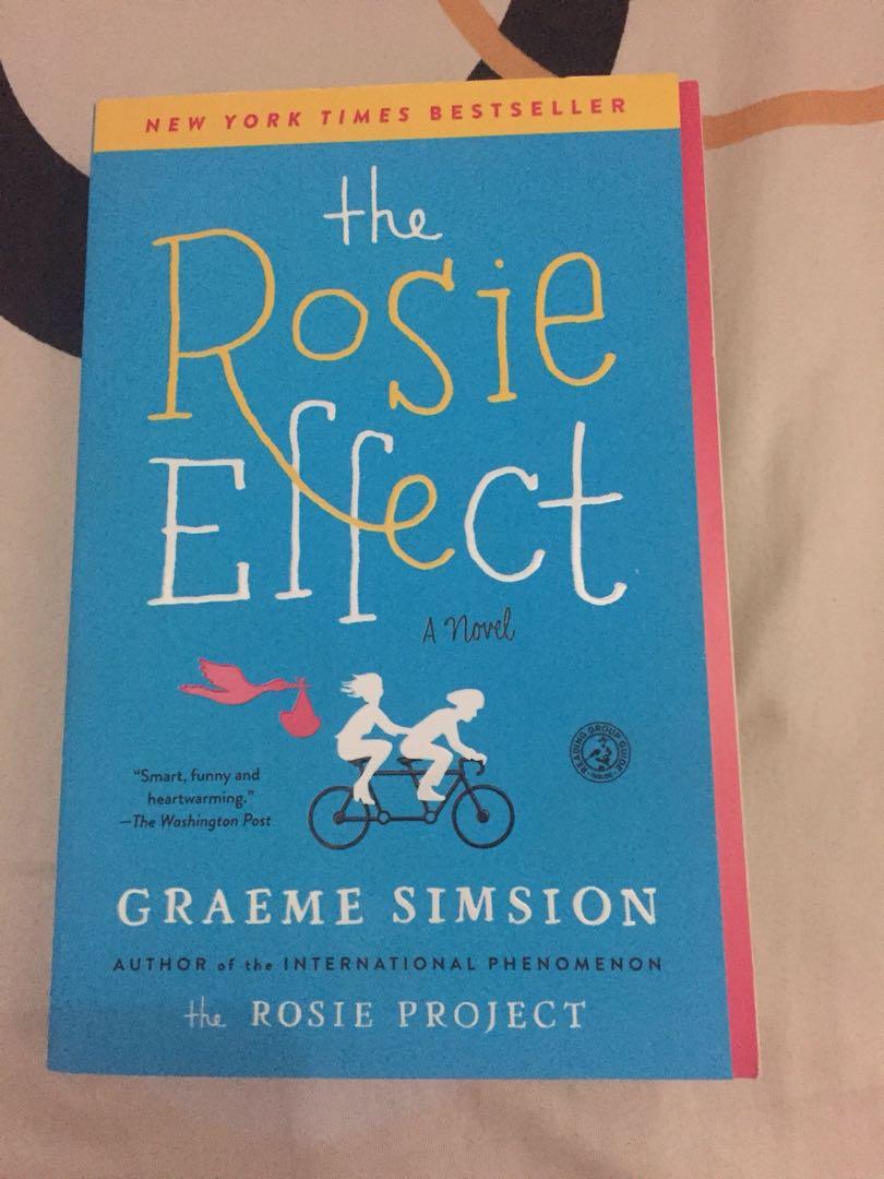 Rosie Effects Novel Bahasa Inggris Buku Alat Tulis Buku Di Carousell