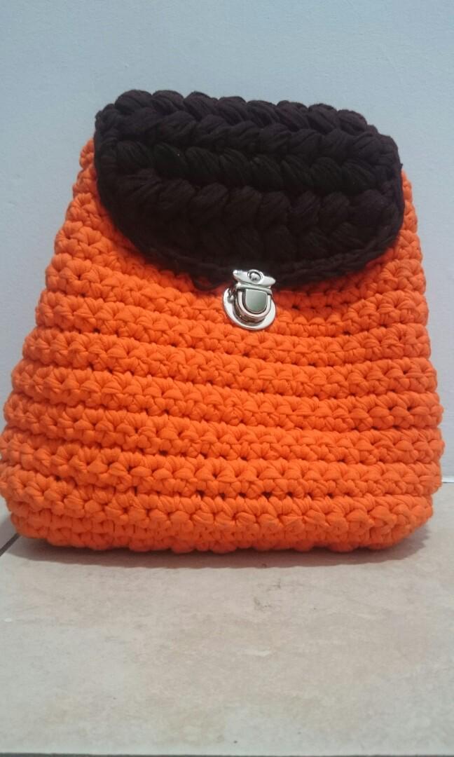 Tas Rajut Design Craft Handmade Goods Accessories On