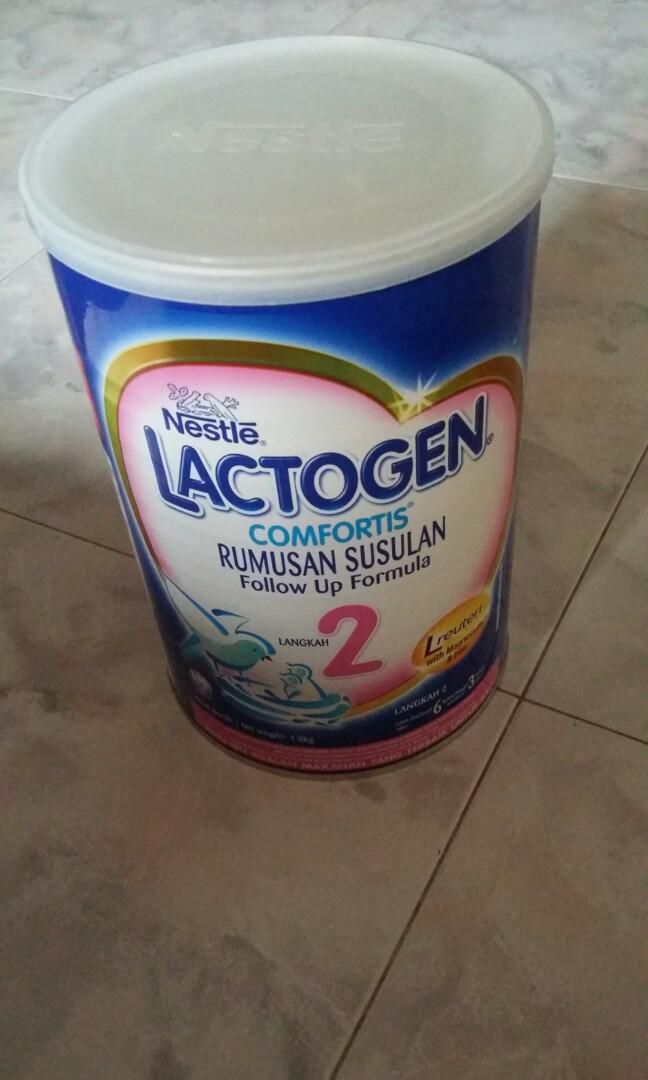 To Bless : Half tin of Lactogen 2, Babies & Kids, Nursing