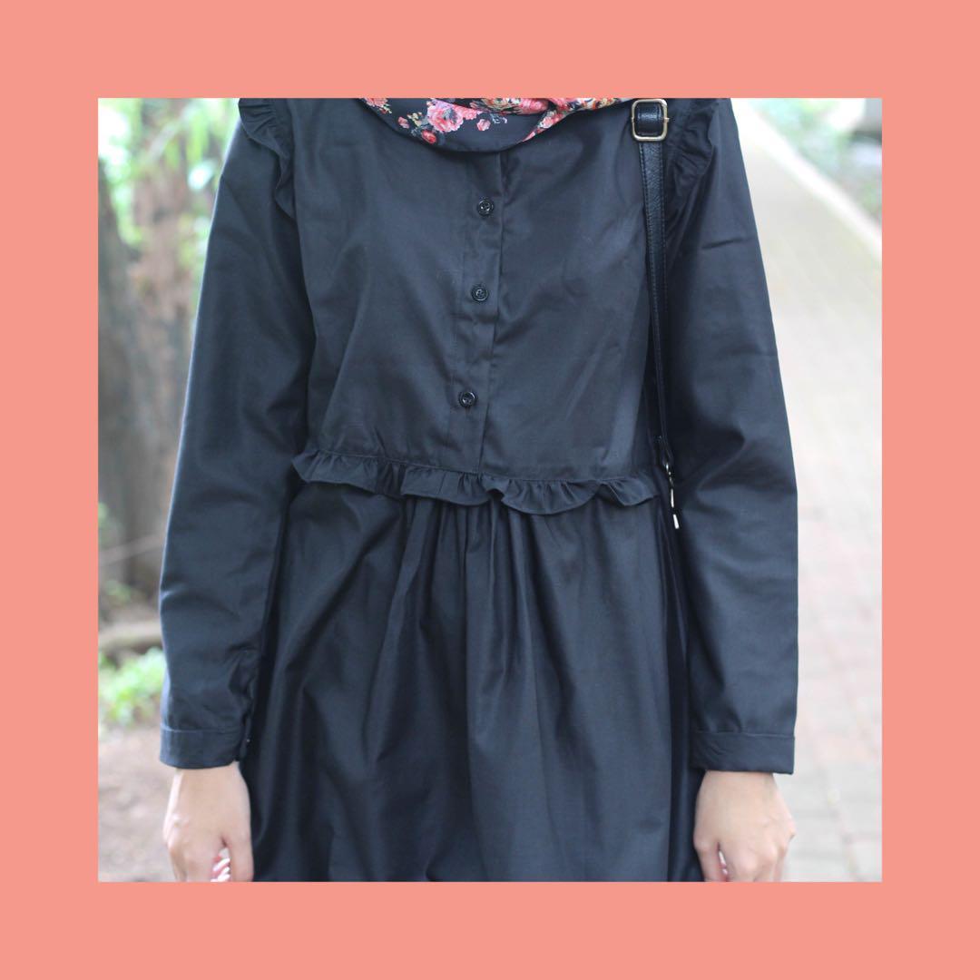 Tunik Wanita Muslim Pakaian Sehari Hari Fesyen Wanita Pakaian Wanita Di Carousell