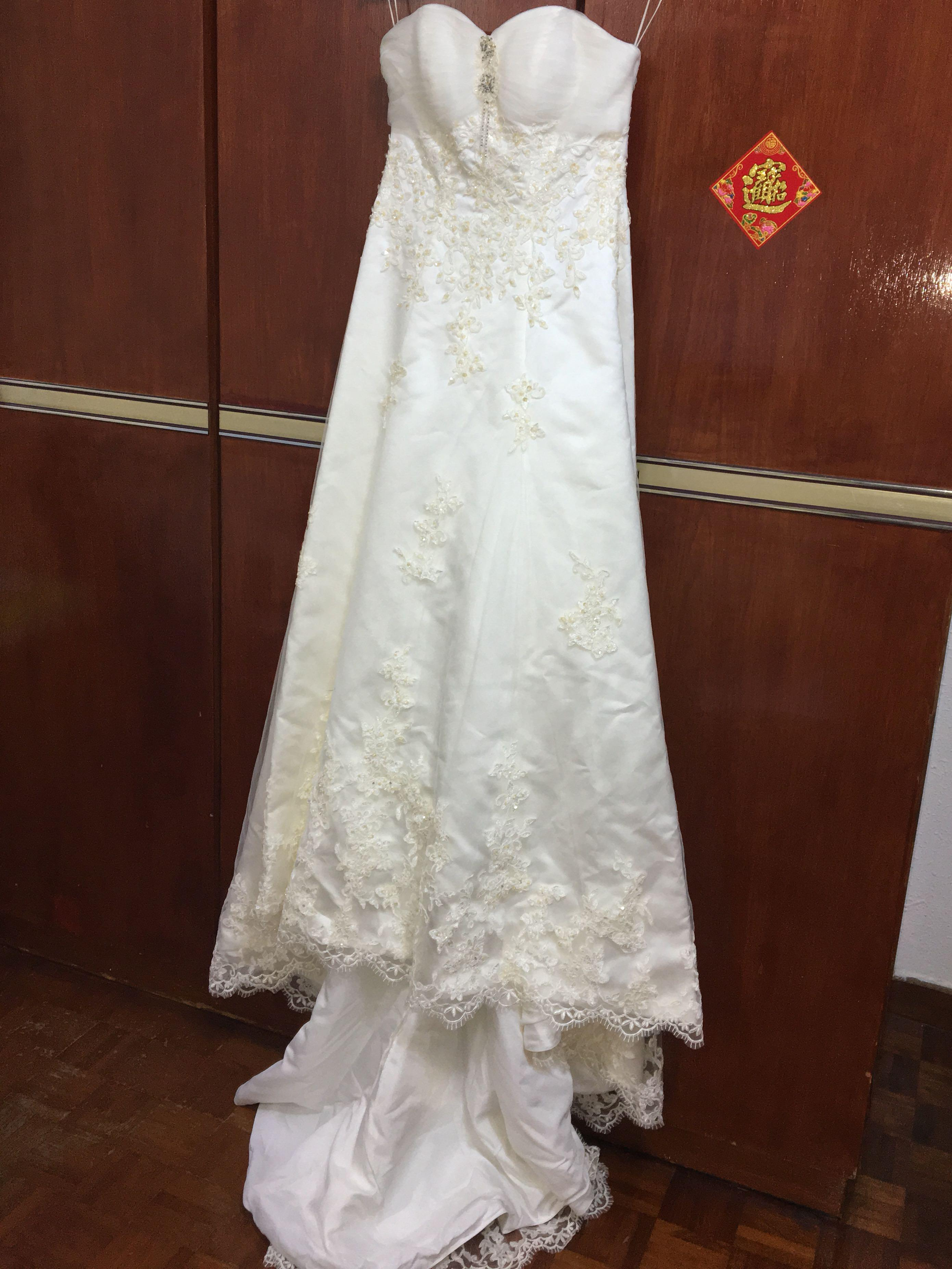 Wedding Gown Mermaid Tail Custom Made One Of Its Kind Women S Fashion Clothes Dresses Skirts On Carousell,Wedding Long Beautiful Dresses For Girls