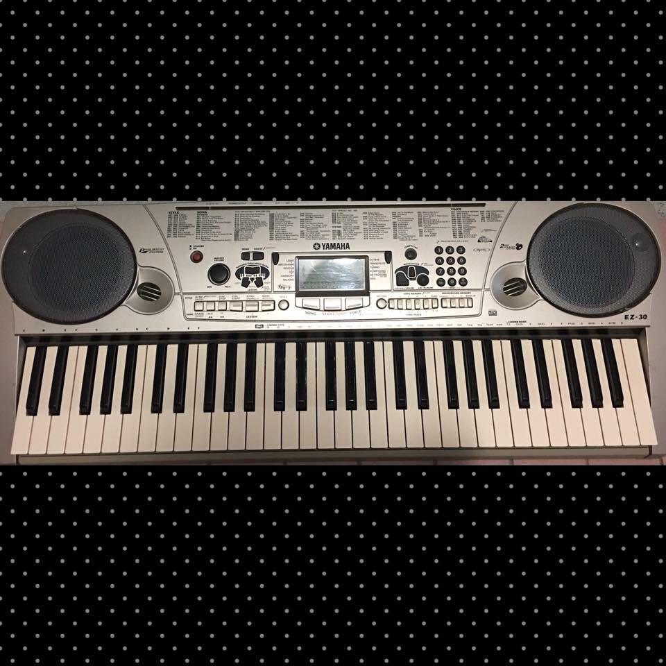 Yamaha EZ-30 Keyboard 電子琴(送非原裝袋)