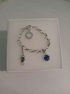 Thomas Sabo Classic Charm Bracelet with two charms