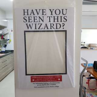 Harry Potter Photobooth Prop (Prisoner of Azkaban Frame)