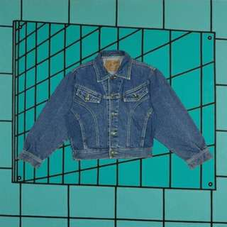 90s Semi Cropped Denim Jacket