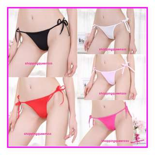 Sexy Women Underwear Sides Tie G-String Thong Panties Sexy Lingerie Pajamas L291